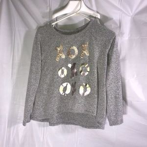 XOX Graphic Sweater Arizona Jeans Girls Large 14